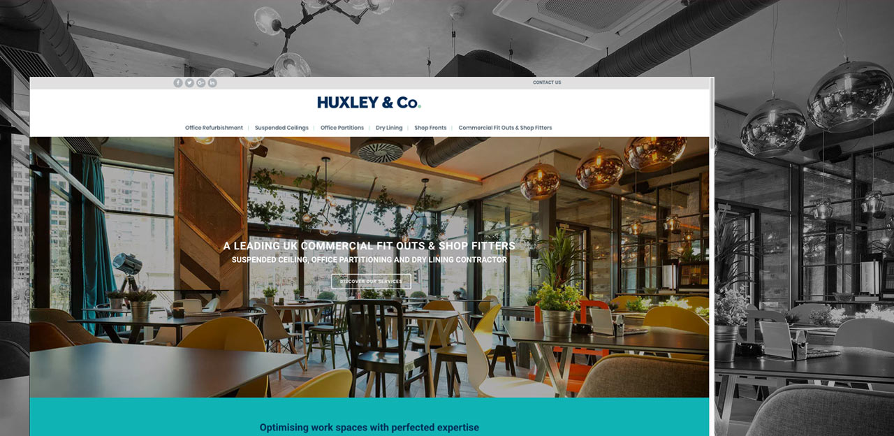Huxley & Co website